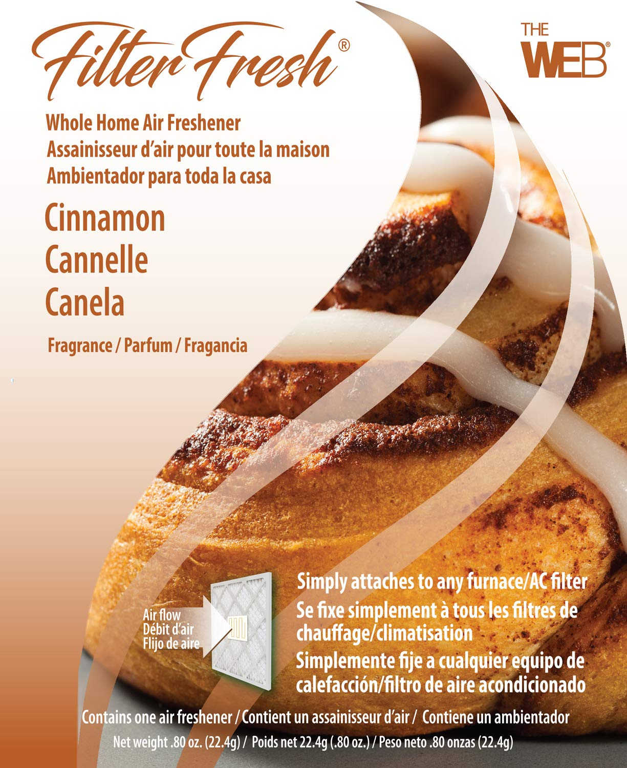 WEB FilterFresh Whole Home Cinnamon Air Freshener