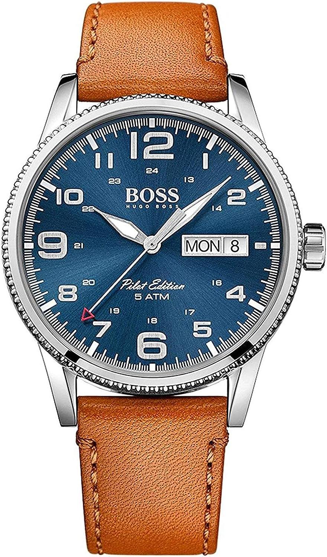 Hugo Boss - Reloj de Cuarzo Vintage para Hombre
