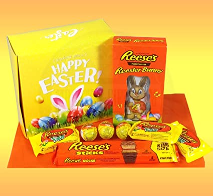 Reeses ultimate easter gift box reester bunny king size sticks reeses ultimate easter gift box reester bunny king size sticks creme eggs and negle Gallery