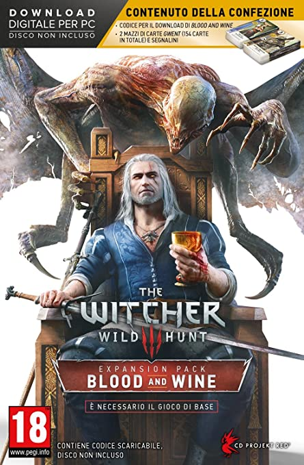7 opinioni per The Witcher 3: Wild Hunt- Blood And Wine (Expansion Pack)- Limited- PC