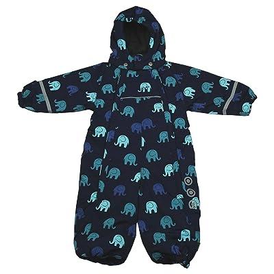 330128 Snow jacket - w. AOP Navy 86
