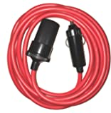 Cigarette Lighter Extension Cord Plug with Fuse 12 Volt 10 Foot Heavy Duty Electric Cable for Car Travel