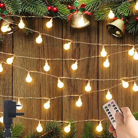 100 LED Solar Fairy String Lights Christmas Party Garden Outdoor Patio Tents DIY