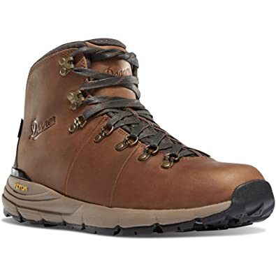 "Mountain Light II 5"" Brown Vibram (30800) Sole Outdoor Boots  Waterproof Hiking Combat Boot  Mountain Boot  Downhill Braking and Side-Hill Traction"