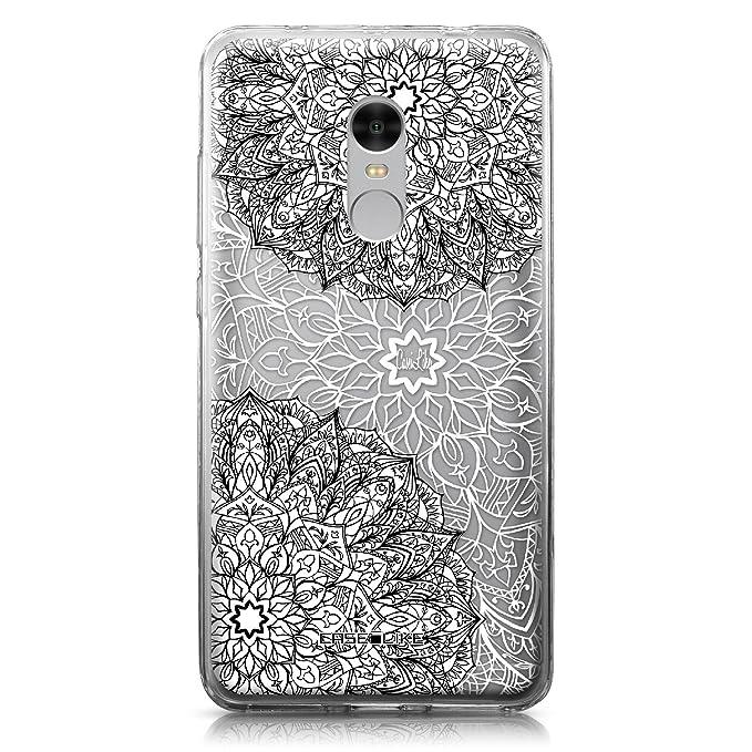 55811c2f8c0 CASEiLIKE Funda Redmi Note 4, Carcasa Xiaomi Redmi Note 4, Arte de la  Mandala 2093, TPU Gel Silicone Protectora Cover: Amazon.es: Electrónica