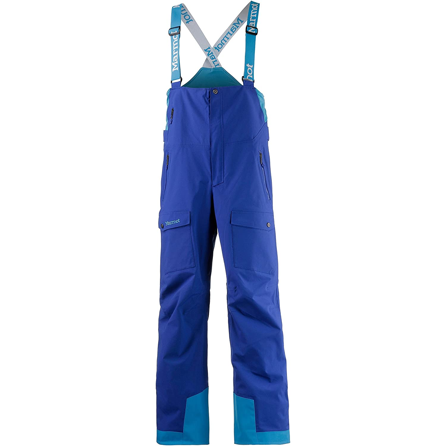 0f1225ae7 Marmot Rosco Bib - Men s-Surf Bahama Blue-Regular 71090-3868-M ...