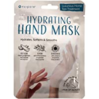 Nu-Pore Moisturizing Gloves – Hand Mask for Dry Hands and Moisturizer with Jojoba Oil and Aloe Vera to Help Repair and Soothe Extra Dry Skin, Paraben & Latex Free (24 Pack)