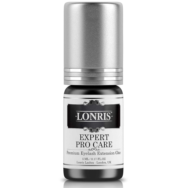 c16651345c4 Amazon.com : SENSITIVE LOW FUME Eyelash Extension Glue Lonris 5 ml ...