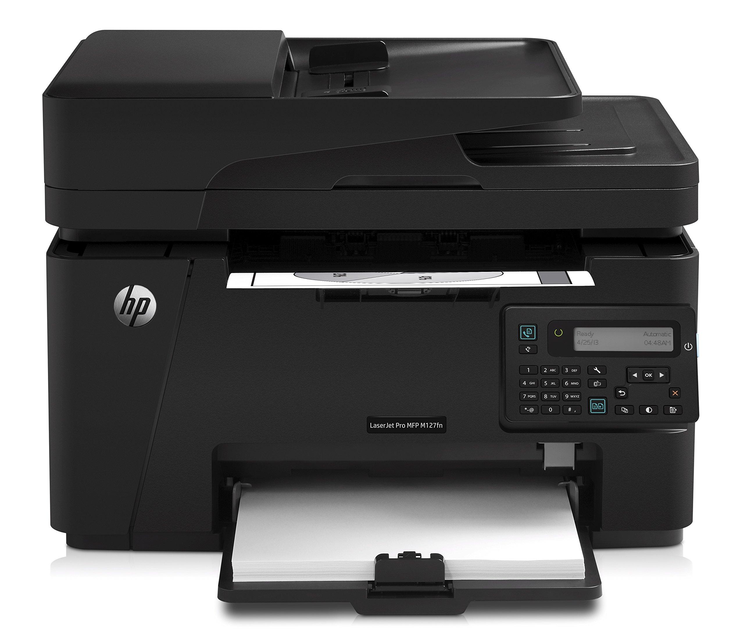 HP Laserjet Pro M127fn Networked All-in-One Monochrome Printer, (CZ181A)