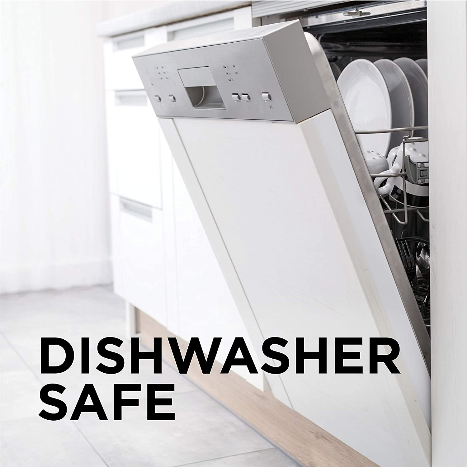 All parts are dishwasher safe.