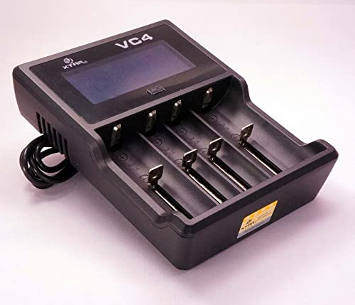 XTAR VC4 – Best 18650 Battery Charger