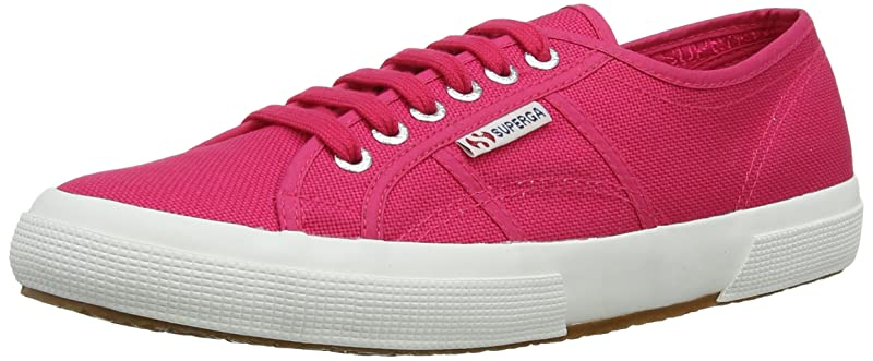 Superga 2750 Cotu Classic Sneakers Low-Top Unisex Damen Herren Rosa (Azalea)