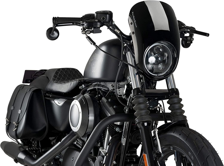 Customacces Az3265n Verkleidungscheibe Anarchy Harley Davidson Sportster Iron Xl883n 09 19 Auto
