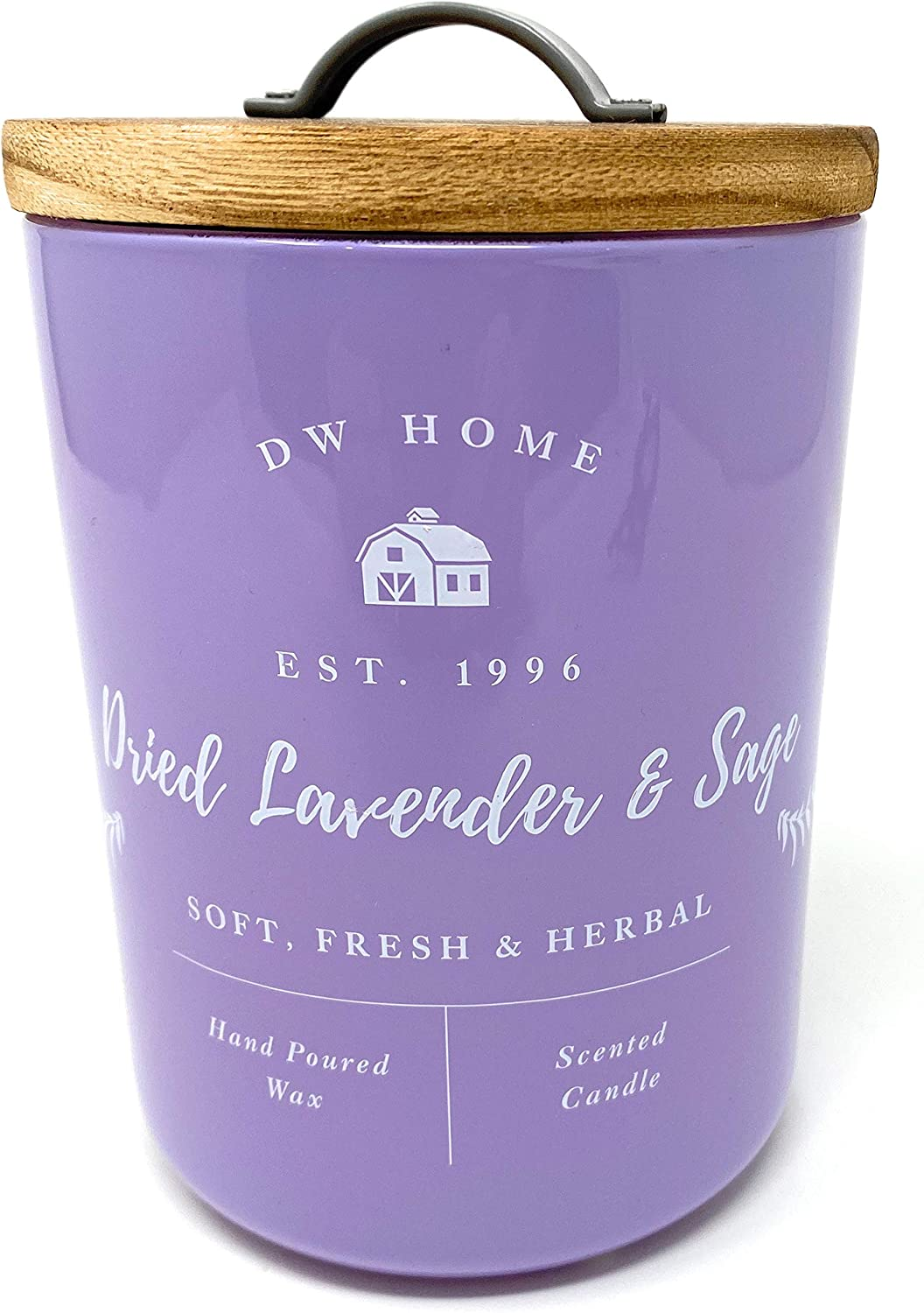 DW Home Dried Lavender & SAGE Large Candle 15.1 Ounce