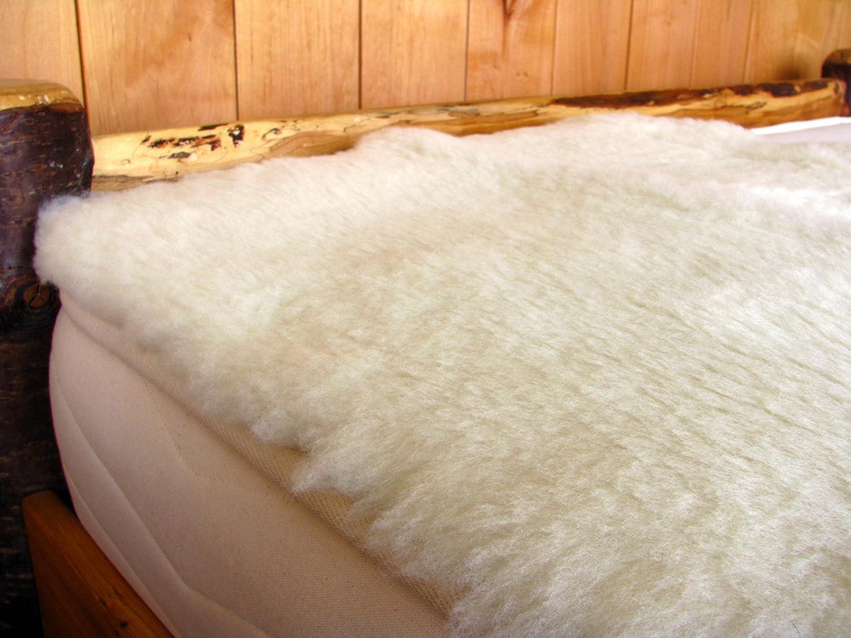 Holy Lamb Organics Organic Wool Toppers Happy Lamb Fleece (Crib)