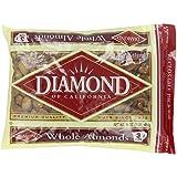 Diamond Whole Almonds, 1-Pound Package