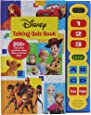 Disney Frozen, Toy Story, and More! - Talking Quiz Sound Book - Over 200 Interactive Questions on Disney and Pixar Films - PI Kids