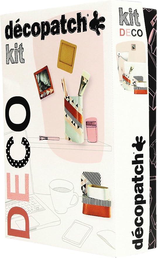 décopatch KIT013O Kit de Manualidades para niños - Kits de Manualidades para niños (Kit de Manualidades para niños, Cepillar, Niño/niña, Adulto, Caja): Amazon.es: Hogar