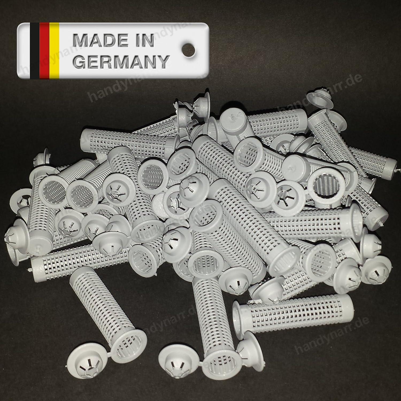10 Siebhülsen 15 x 85 mm für Verbundmörtel M10 M12 Siebhülse Ankerhülse Mörtel