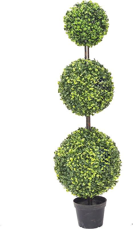 Topiaire Artificiel Quatres Boules-90cm