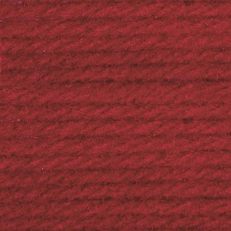 Bernat Super Value Solid Yarn-cherry Red