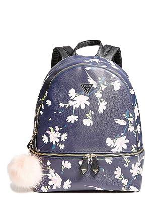 6fdd1b6e0698 GUESS Factory Women s Calhoun Pom Backpack  Amazon.co.uk  Clothing