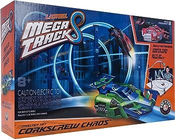 Mega Tracks Corkscrew Chaos Set