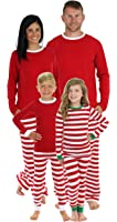 Sleepyheads Red Stripe Family Matching Pajama Set