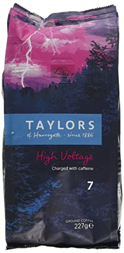 Taylors of harrogate high voltage ground coffee 227 g pack of 6 taylors of harrogate high voltage ground coffee 227 g publicscrutiny Choice Image