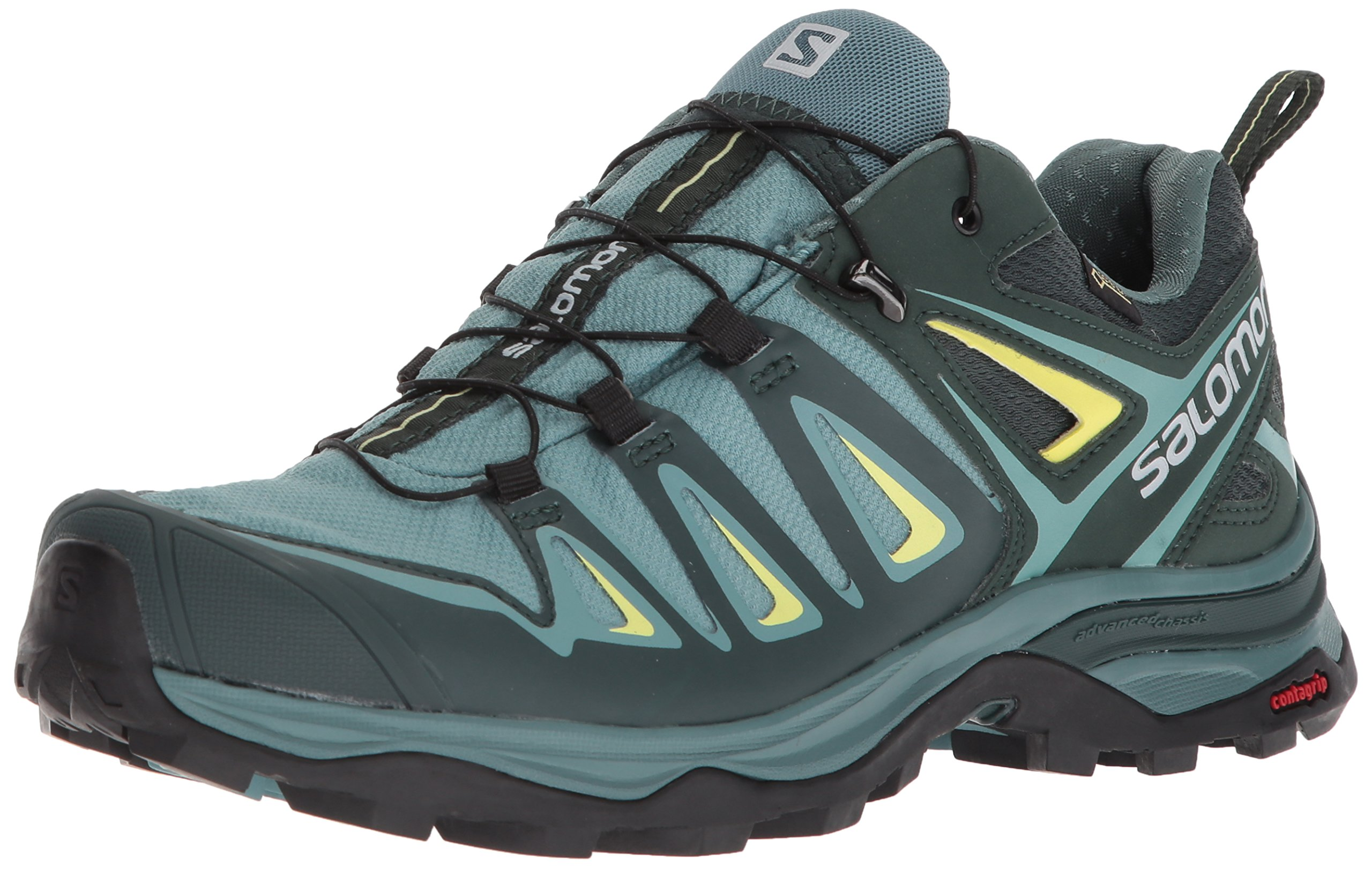 Salomon Women's X Ultra 3 GTX Trail Running Shoe, Artic, 5.5 M US by Salomon (Image #1)