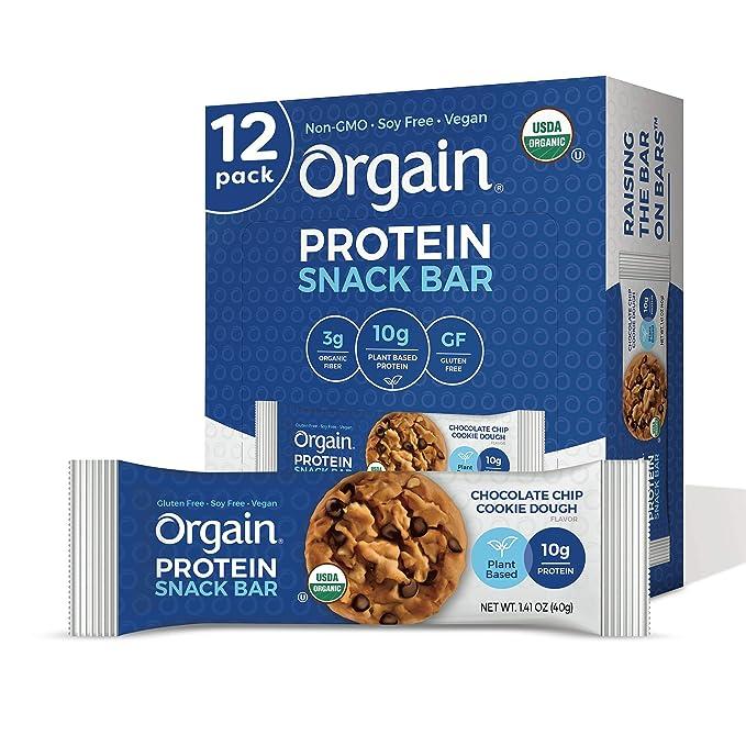 Orgain Organic Plant-Based Protein Bar