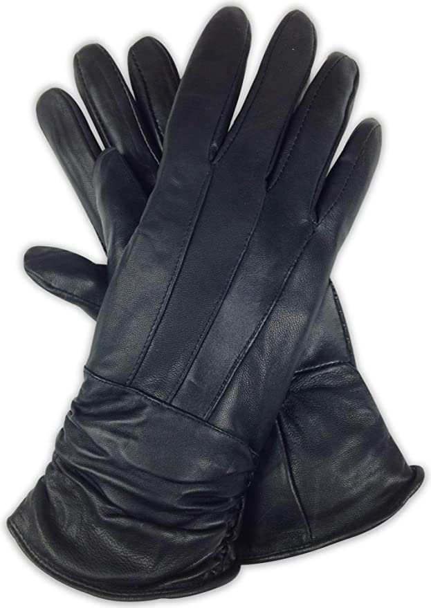 Black or Brown Details about  /New Dublin Leather Thinsulate Winter Adult Horse Riding Gloves