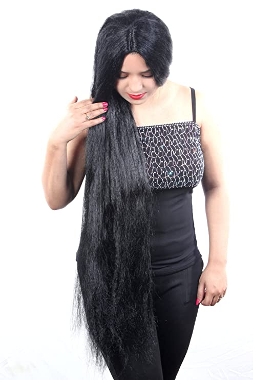 Buy Ritzkart Women S Black Hair Wig 31 Inch Online At Low Prices In