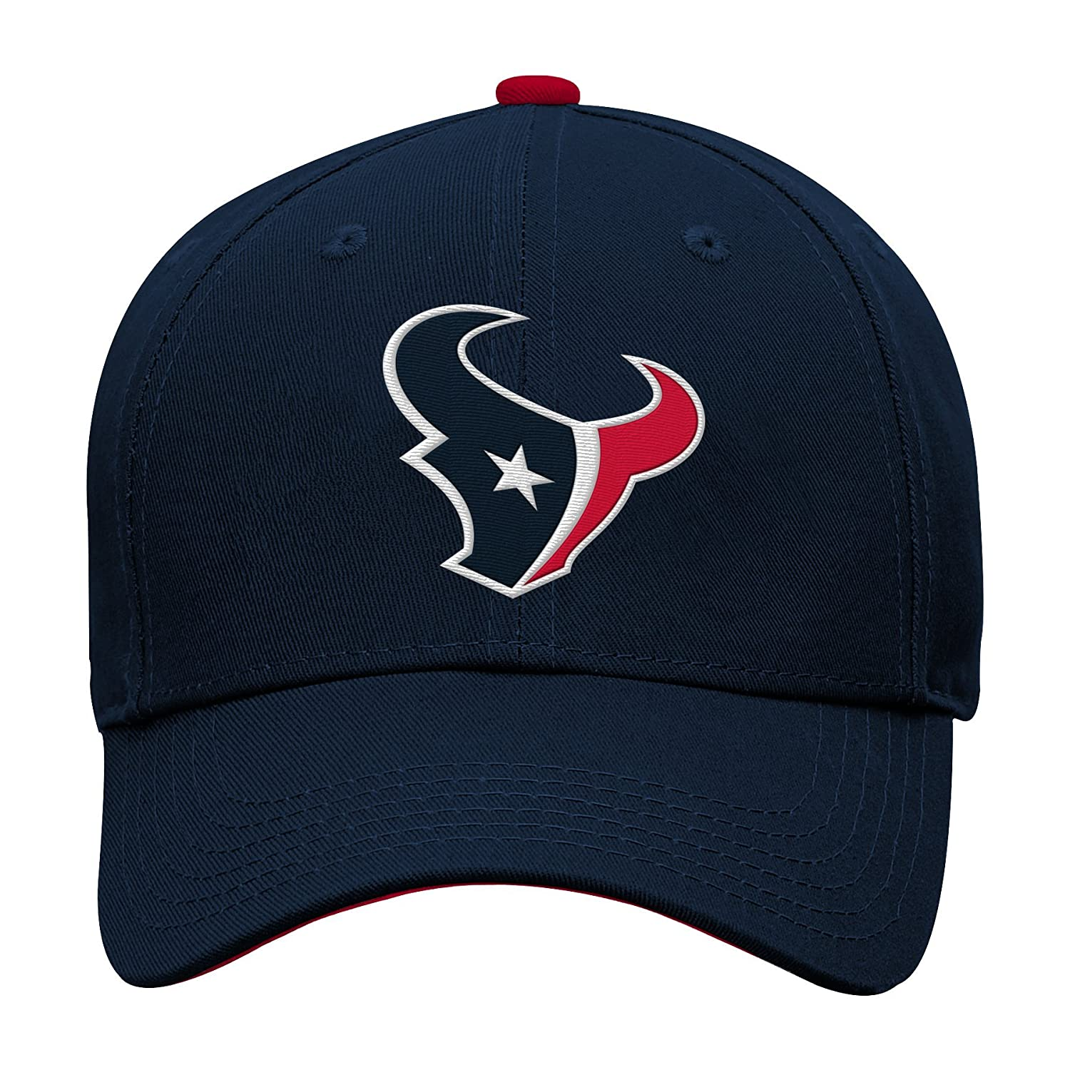 Outerstuff NFL Boys Kids /& Youth Boys Structured Adjustable Hat Houston Texans