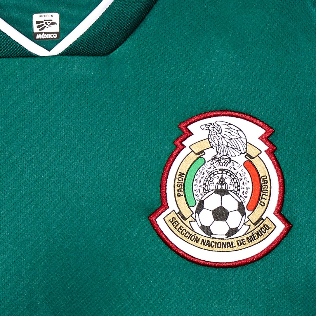 Jersey Oficial Selección de México Visitante para Niños 600a2a2637398