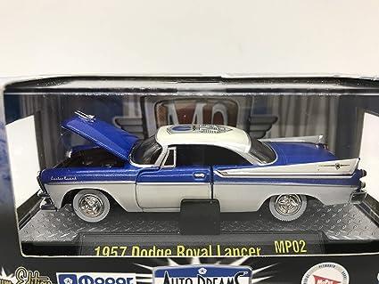 M2 Premium Edition black 1957 Dodge Custom Royal Lancer D500 FREE shipping