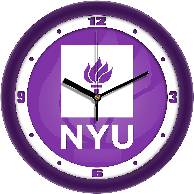 SunTime New York University Violets Dimension Wall Clock