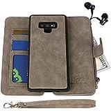 Samsung Galaxy Note 9 Case, Modos Logicos [Detachable Wallet Folio][2 in 1][Zipper Cash Storage][Up to 14 Card Slots 1…