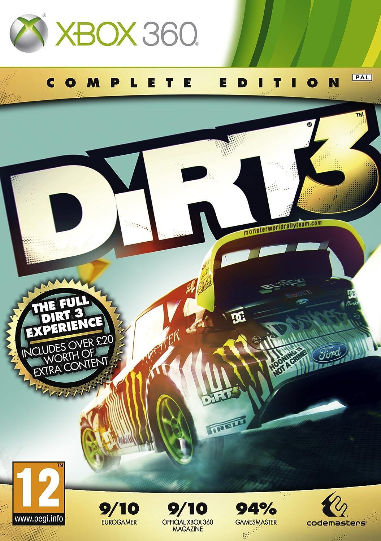 Dirt 3: complete edition (xbox360) [ u0487 ] bem vindo(a) à.