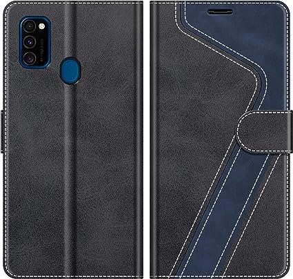 MOBESV Funda para Samsung Galaxy M30s, Funda Libro Samsung M21 ...