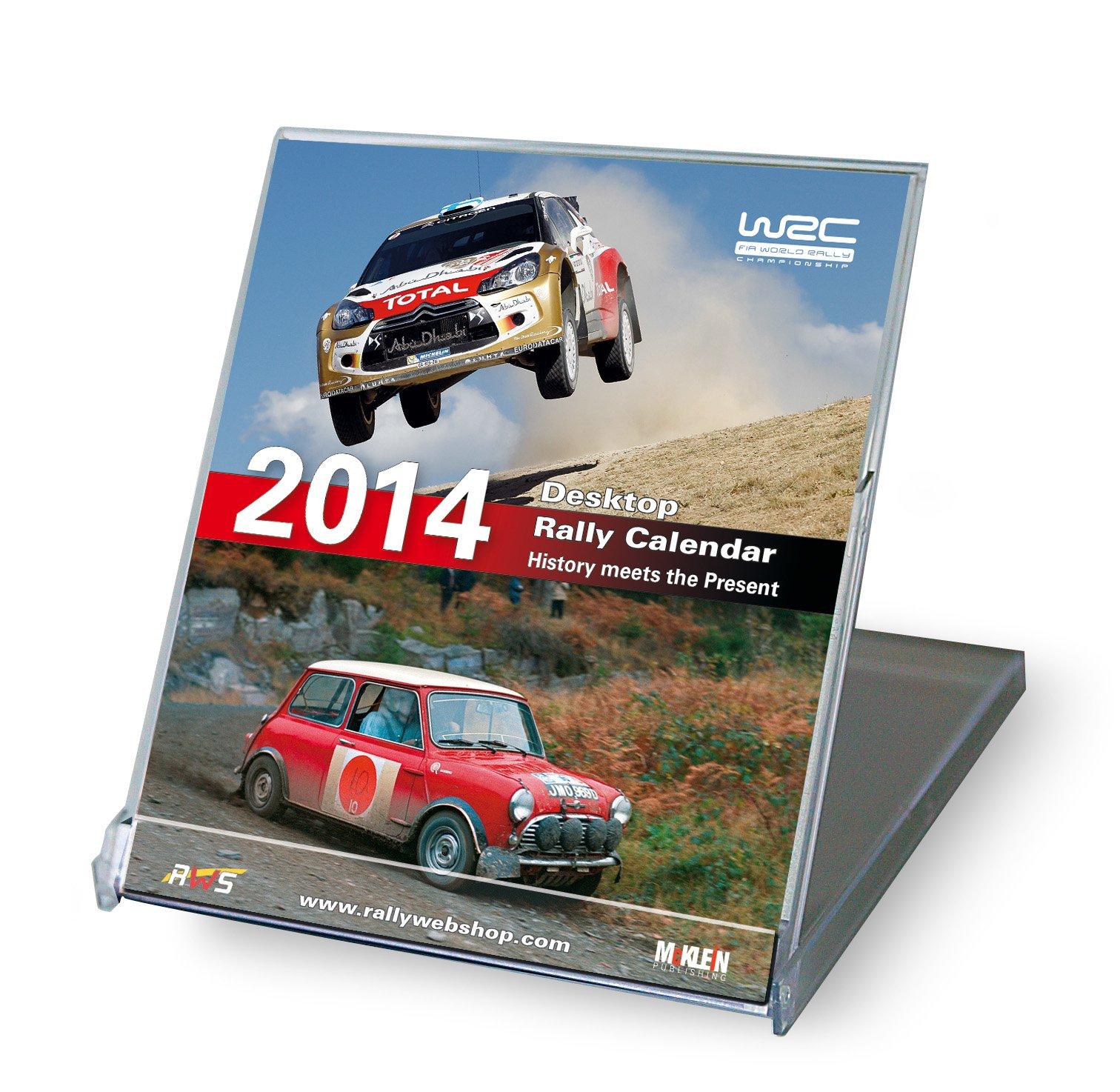 Desktop Rally Calendar 2014: History meets the Present