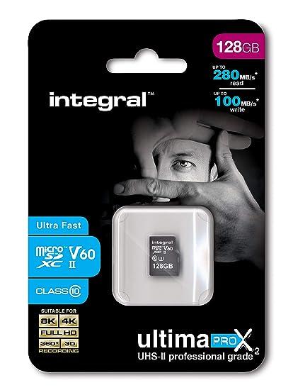 Integral UltimaPro X2 UHS-II microSDXC Tarjeta de Memoria 128 GB ...
