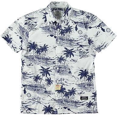 Schott nyc-homme-chemise mango courte-sh isla-collection primavera ...
