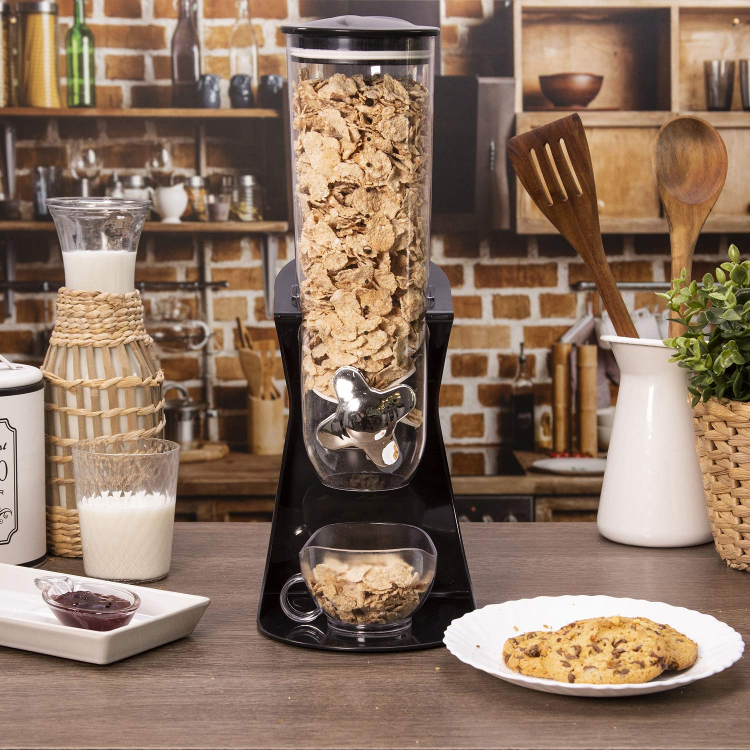 Distributore di cereali con dispenser