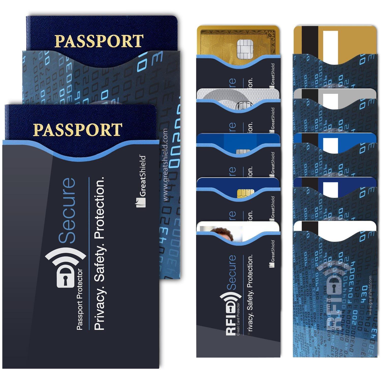 Amazon 15 RFID Blocking Sleeves GreatShield RFID Blocking