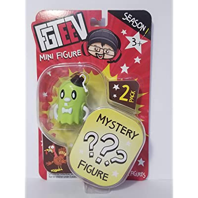 FGTeeV - Glow Spookas Mini Figure and Mystery Figure - Season 1: Toys & Games