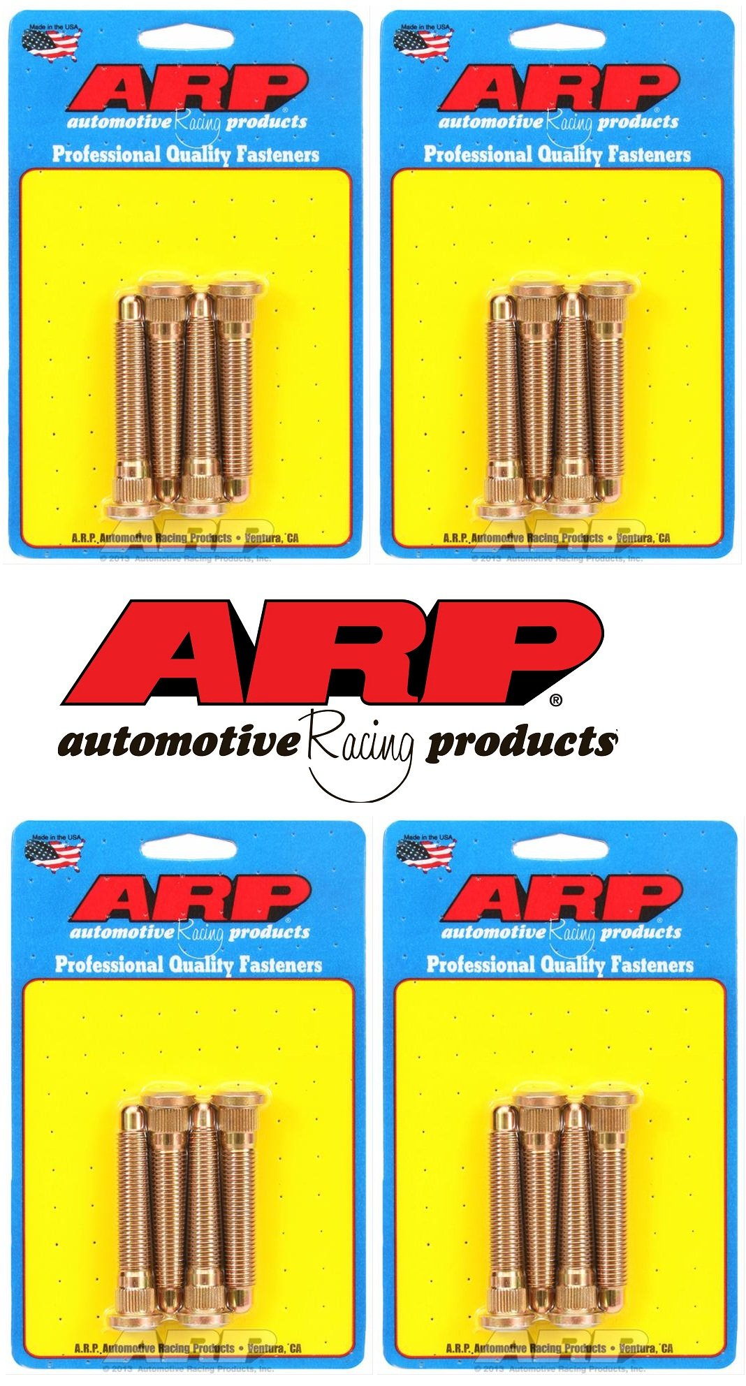 ARP Wheel Stud Kit For 1990-1993 Mazda Miata M12 x 1.5 - Front & Rear (Set of 16) by ARP (Image #1)