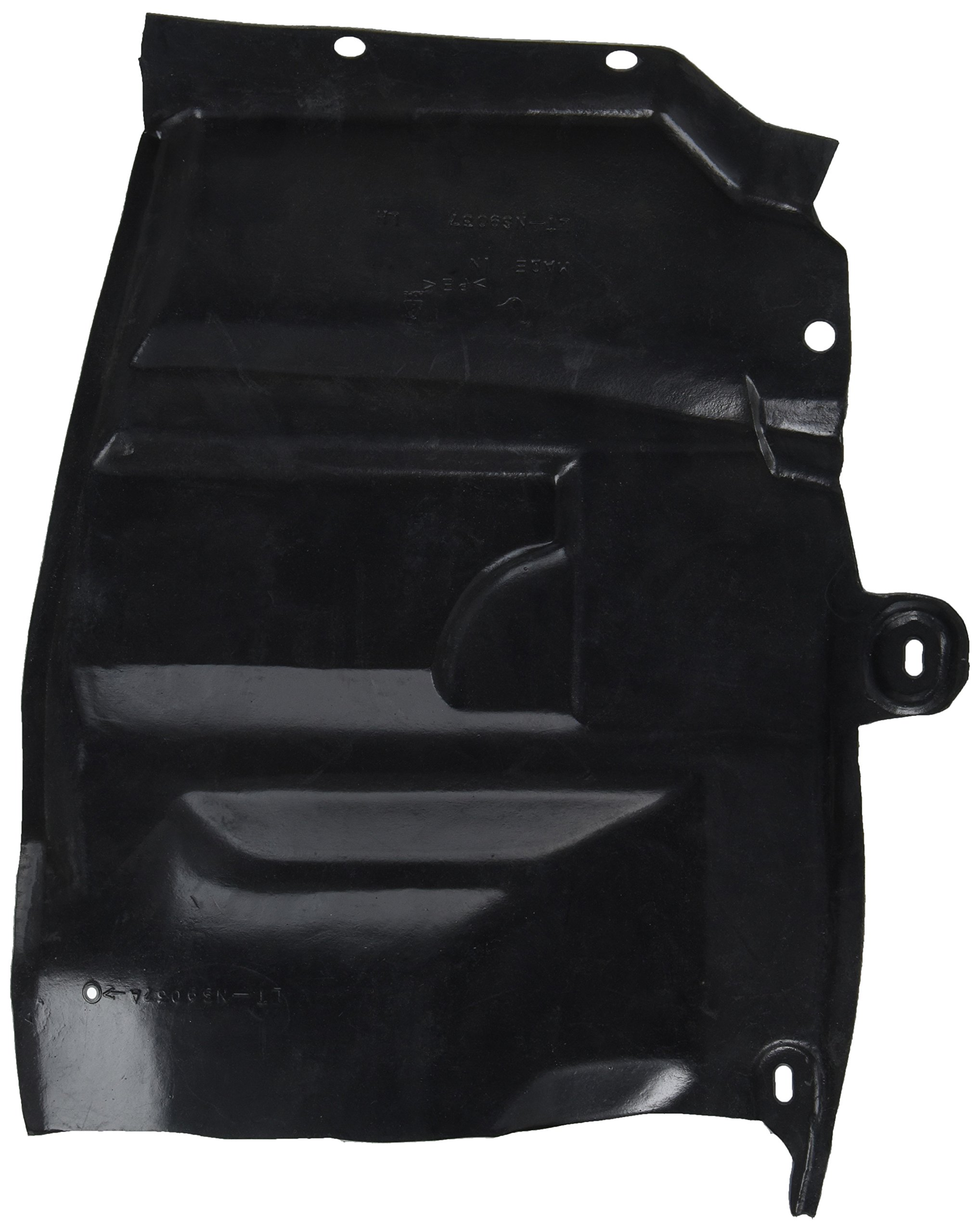 OE Replacement Nissan/Datsun Altima Front Driver Side Fender Splash Shield (Partslink Number NI1250139)