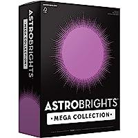 "Astrobrights Mega Collection Colored Paper, 8 ½ x 11, 24 lb/89 gsm, Bright Purple, 625 Ct. (91675)""Amazon Exclusive…"