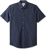 Amazon Essentials Camisa de manga corta ajustada con estampado camisa para Hombre